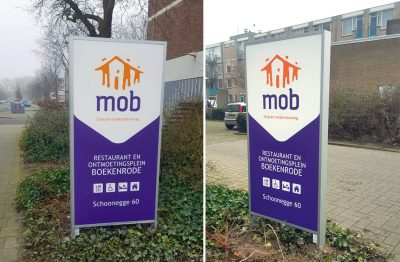 signcraft-rotterdam-signing-dubbelzijdige-zuil-verlichte-mob