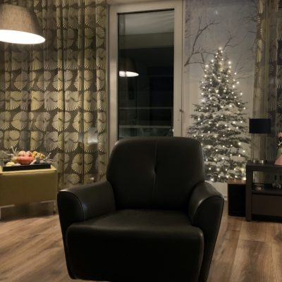 Signcraft-rotterdam_interieur-kerst-textielposter-print-kerstboom-vintage-natuur-thuis-lampjes