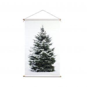 Signcraft-rotterdam_interieur-kerst-textielposter-print-kerstboom-vintage-wit