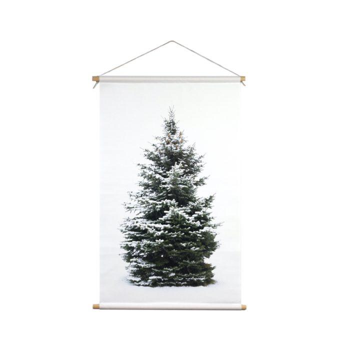 Signcraft-rotterdam_interieur-kerst-textielposter-print-kerstboom-wit