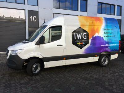 signcraft-rotterdam-carwrap-belettering-autoreclame-iwg-schilderwerken-Rogam-mercedes