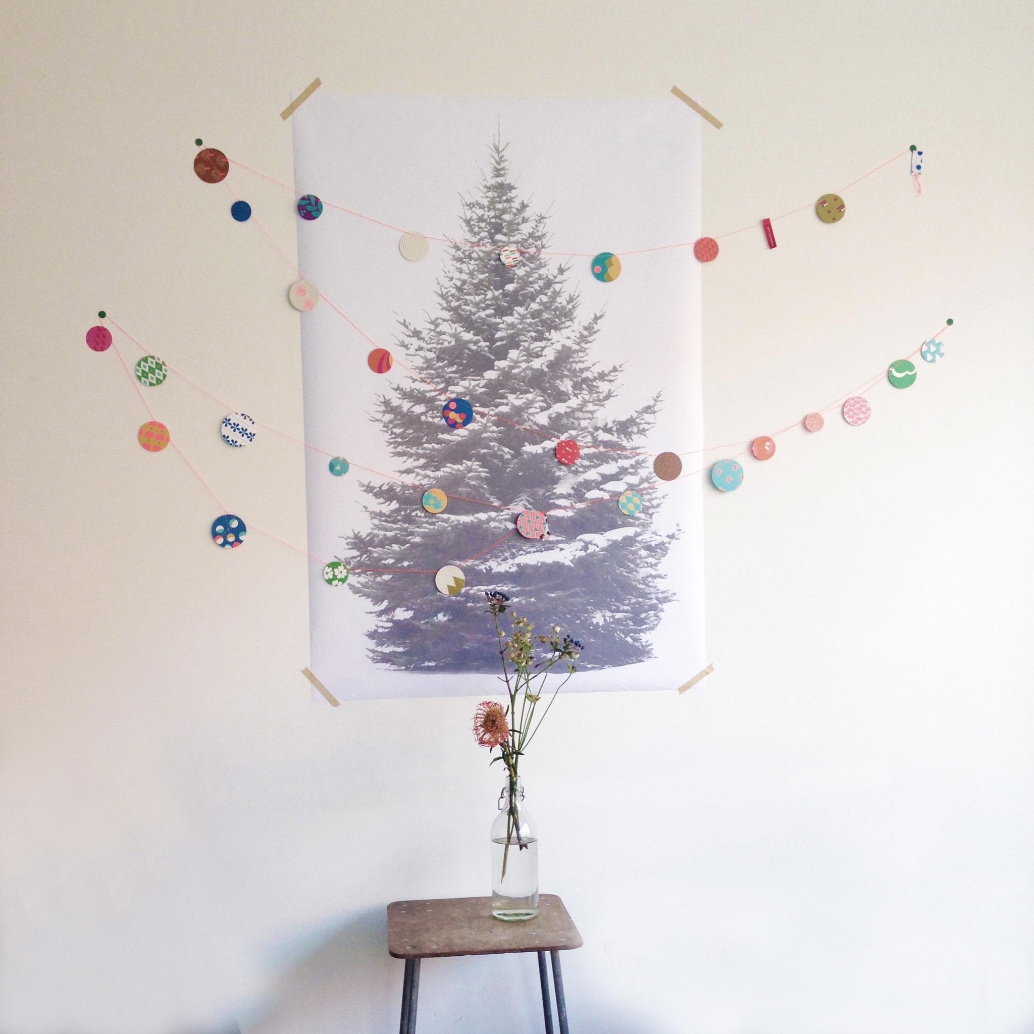 Signcraft-rotterdam_interieur-kerst-textielposter-print-kerstboom-papier