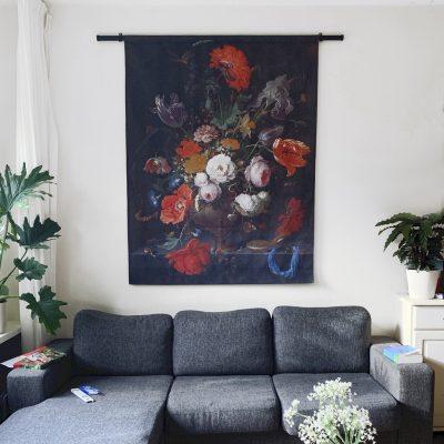 Signcraft-rotterdam-interieur-wandkleed-print-muur-textiel-doek-aankleding-roede