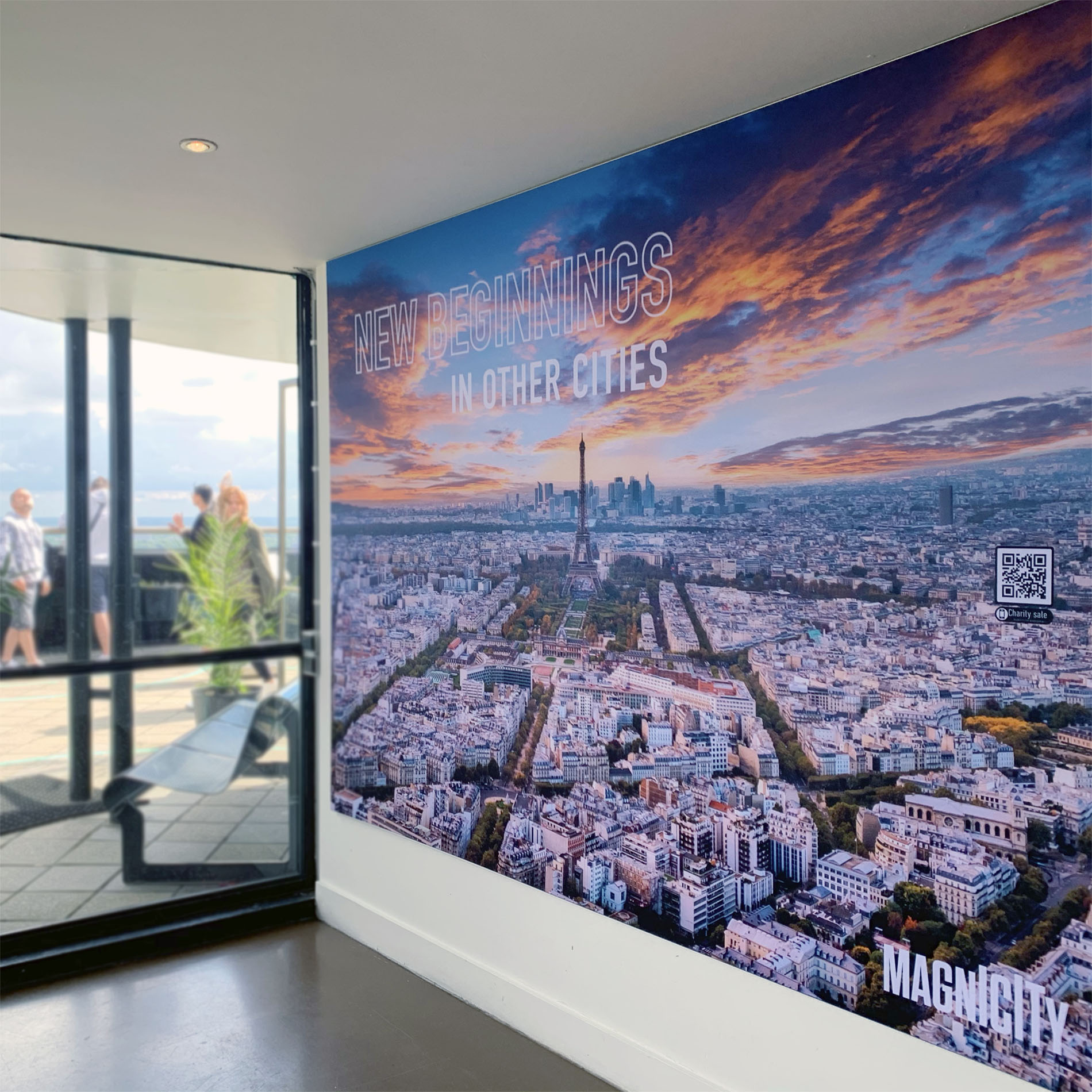 signcraft-signdeco-rotterdam-euromast-foto-expositie-new-beginnings-sign-print-textielframe-signing-magnicity